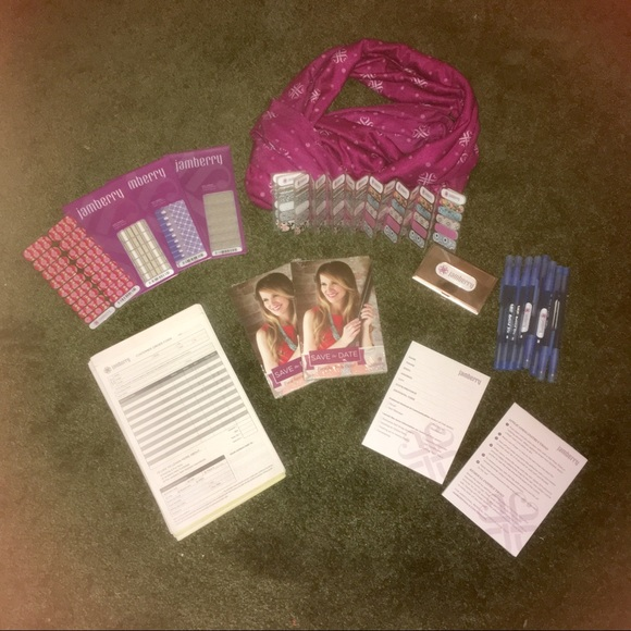 Jamberry Other - Bundle of Jamberry consultant supplies